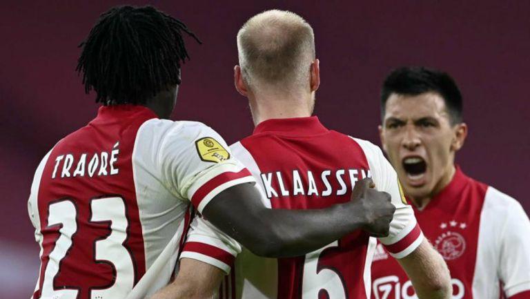 Ajax en partido