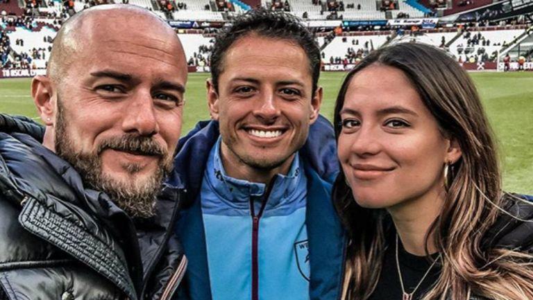 Sarah Kohan, Chicharito y Diego Dreyfus
