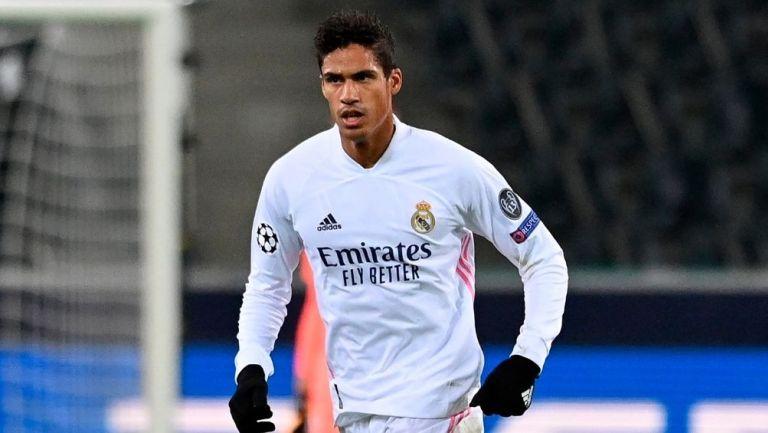 Raphael Varane en juego con el Real Madrid