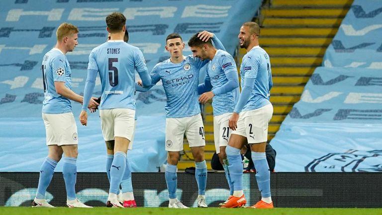 Champions League: Manchester City goleó tranquilamente al Olympiacos