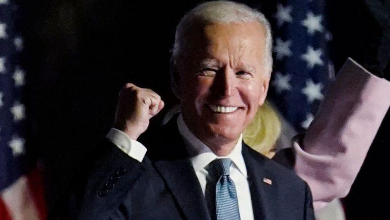 Biden, durante su discurso