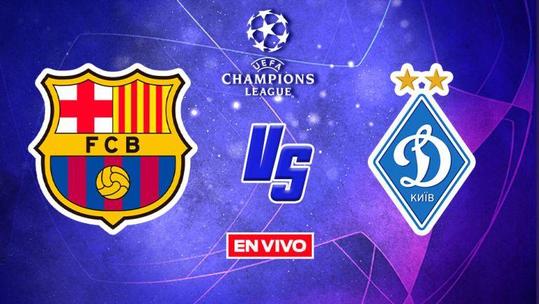 EN VIVO Y EN DIRECTO: Barcelona vs Dinamo de Kiev