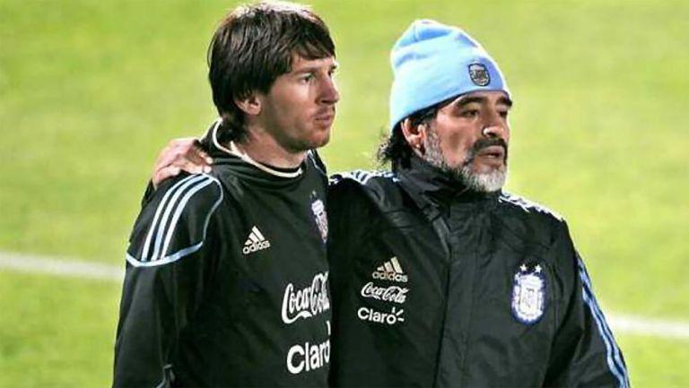 Diego Maradona: Lionel Messi mandó mensaje de apoyo a 'D10S'