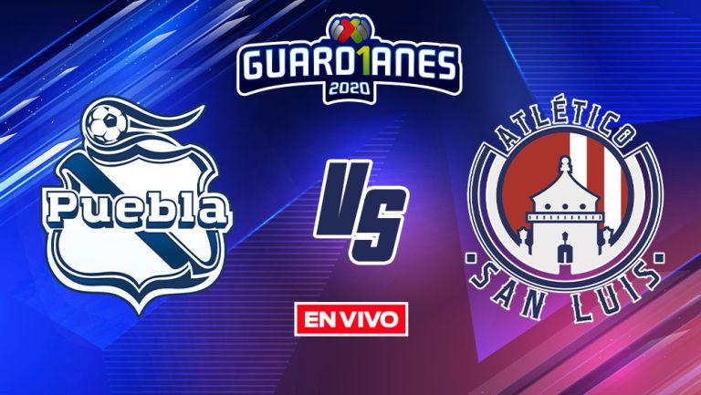 EN VIVO Y EN DIRECTO: Puebla vs Atlético de San Luis Guardianes 2020 J17