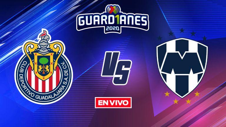 EN VIVO Y EN DIRECTO: Chivas vs Monterrey Guardianes 2020 J17