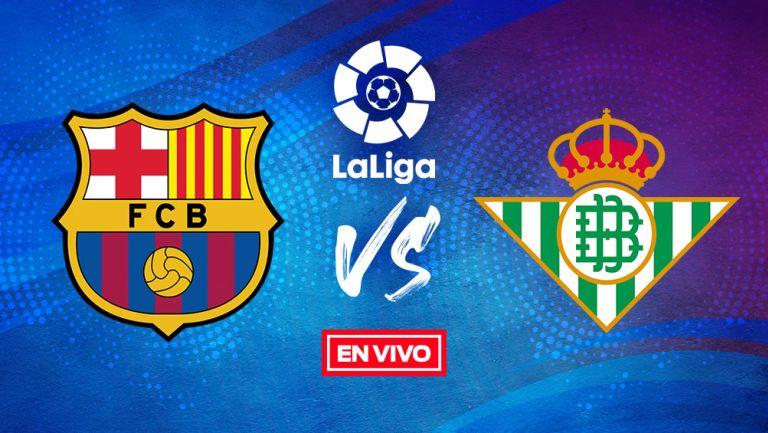 EN VIVO Y EN DIRECTO: Barcelona vs Betis Jornada 9