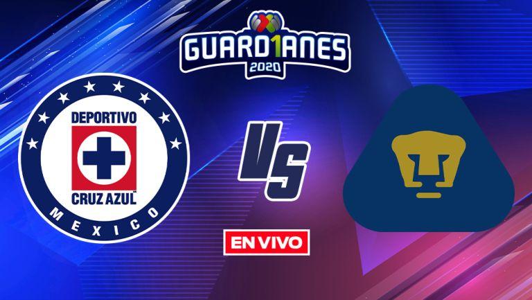 EN VIVO Y EN DIRECTO: Cruz Azul vs Pumas Guardianes 2020 J17