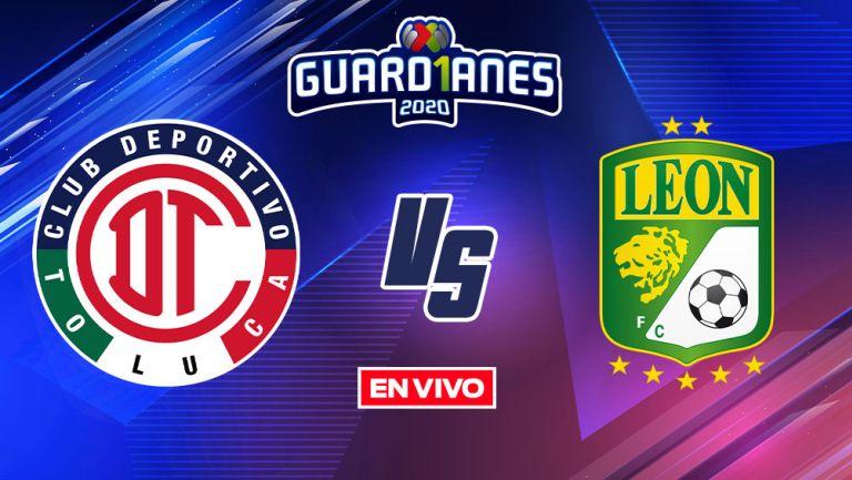 EN VIVO Y EN DIRECTO: Toluca vs León Guardianes 2020 J17