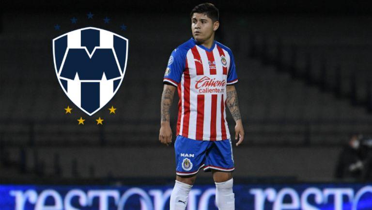 Chofis López en partido con Chivas