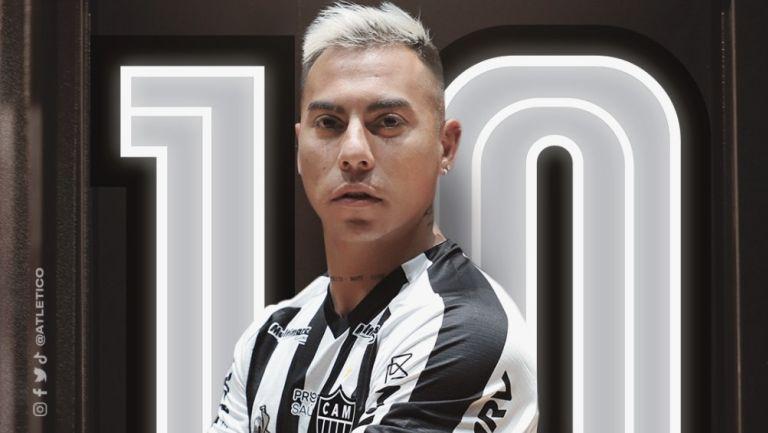 Edu Vargas ahora jugará con el Atlético Mineiro