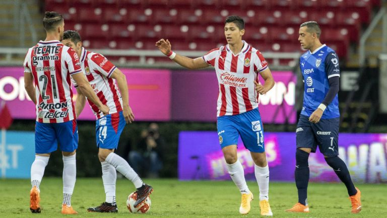 Chivas: 'Necesitaba tener minutos', dijo Ángel Zaldívar, tras gol a Rayados