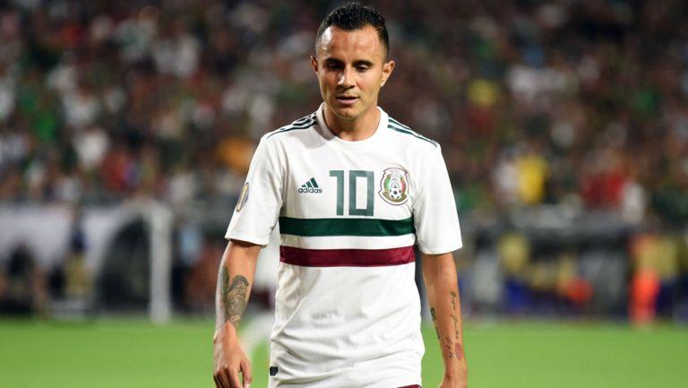 Chapito Montes tras un duelo con la Selección Mexicana