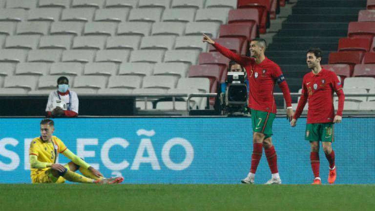Portugal: Goleó a Andorra en juego de preparación para la UEFA Nations League