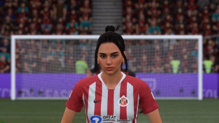 Dua Lipa en FIFA 21