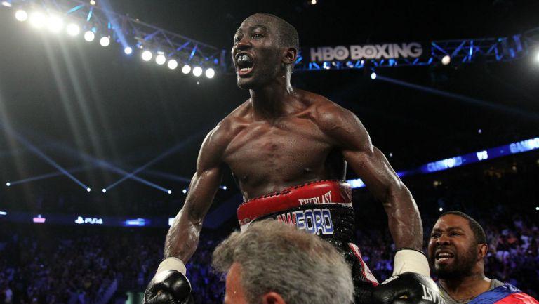 Terence Crawford en pelea