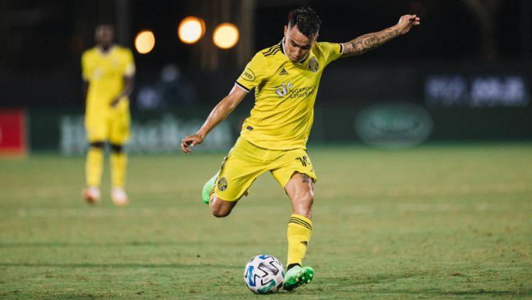 Lucas Zelarayán jugando en la MLS
