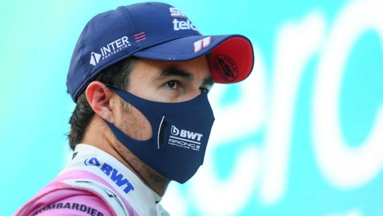 Checo Pérez: Clasificó en tercer lugar para el Gran Premio de Turquía