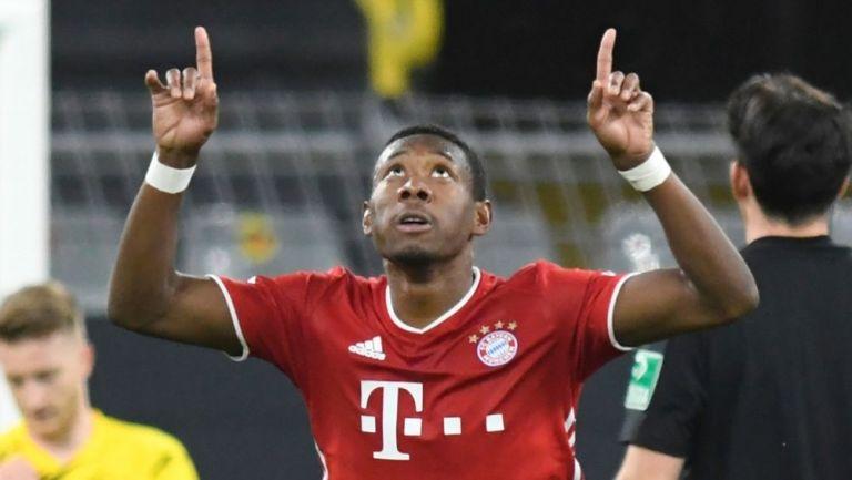David Alaba en un partido con el Bayern Múnich