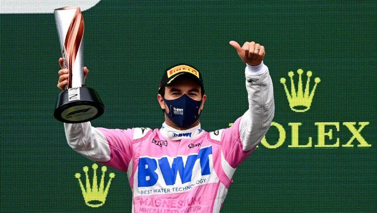 Checo Pérez consiguió su noveno podio en F1 en el Gran Premio de Turquía
