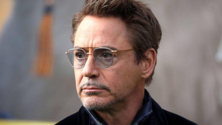 Robert Downey Jr., en una presentación de una película