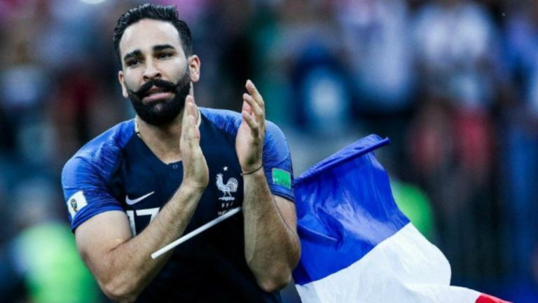 Adil Rami como seleccionado de Francia
