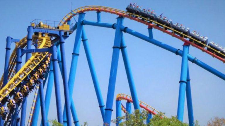 Montaña rusa de Six Flags México