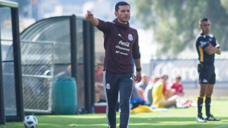 Jaime Lozano, técnico de la Selección Nacional Sub-23
