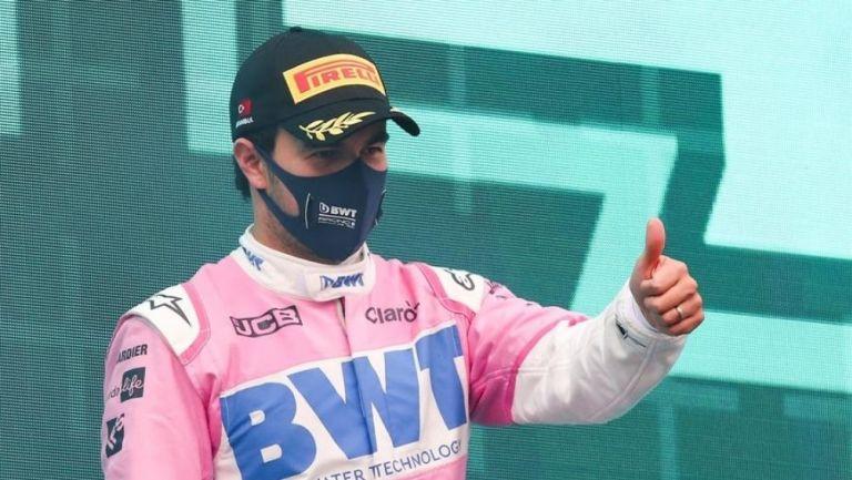 Sergio Pérez en el GP de Turquía