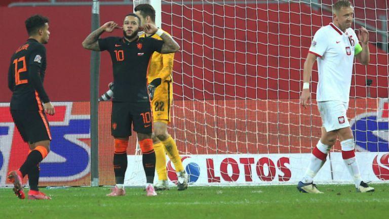 UEFA Nations League: Holanda remontó a Polonia en los últimos minutos