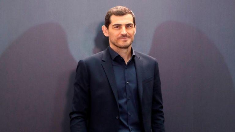 Iker Casillas en la presentación de su documental