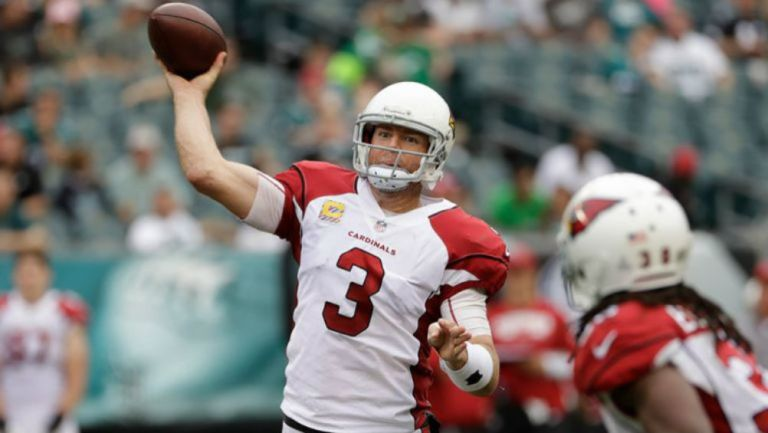 Carson Palmer como quarterback de Arizona
