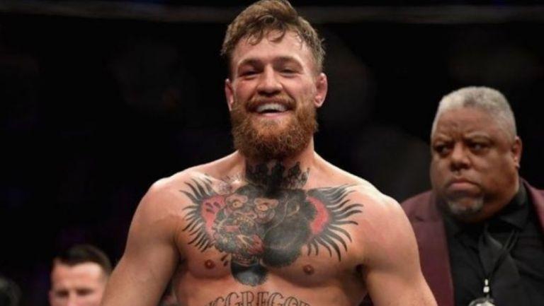 Conor McGregor luego de un combate