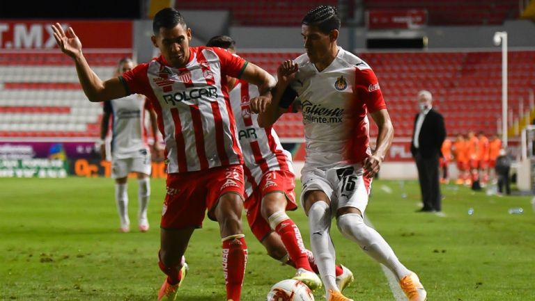 Necaxa vs Chivas en partido