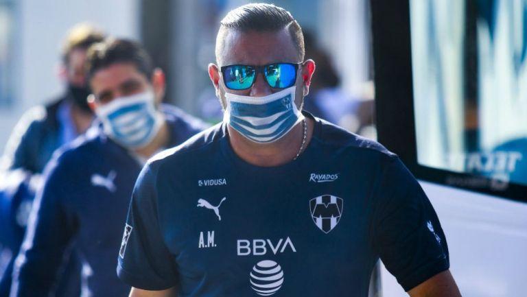 Turco Mohamed, técnico de Rayados