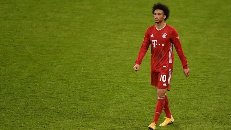 Leroy Sané en empate del Bayern Munich