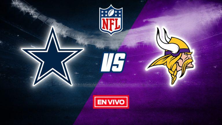 EN VIVO Y EN DIRECTO: Dallas Cowboys vs Minnesota Vikings