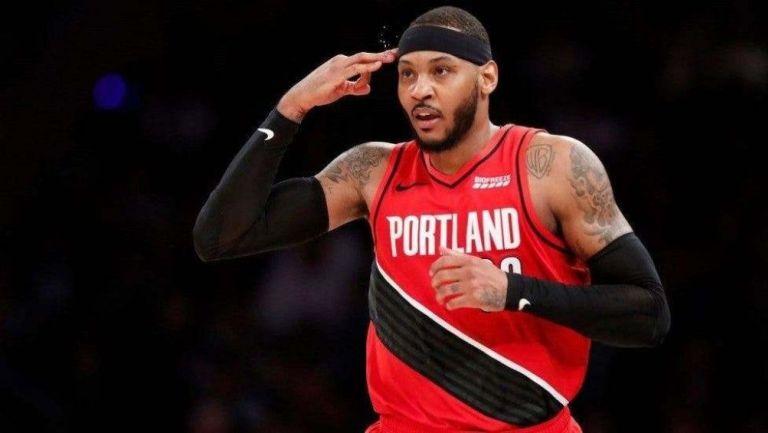 Carmelo Anthony renovó con Portland Trail Blazers por un año — NBA