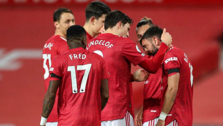 Manchester United en festejo