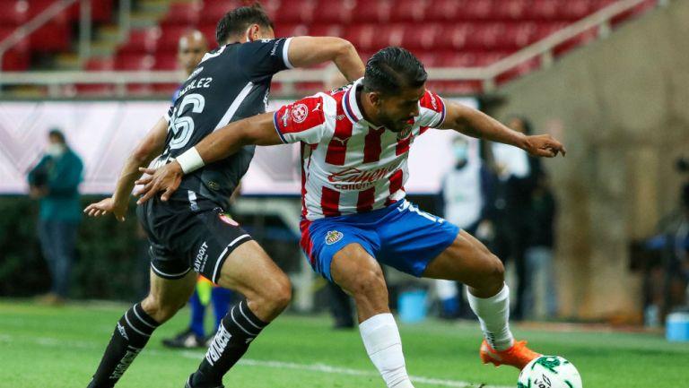 Chivas vs Necaxa en partido