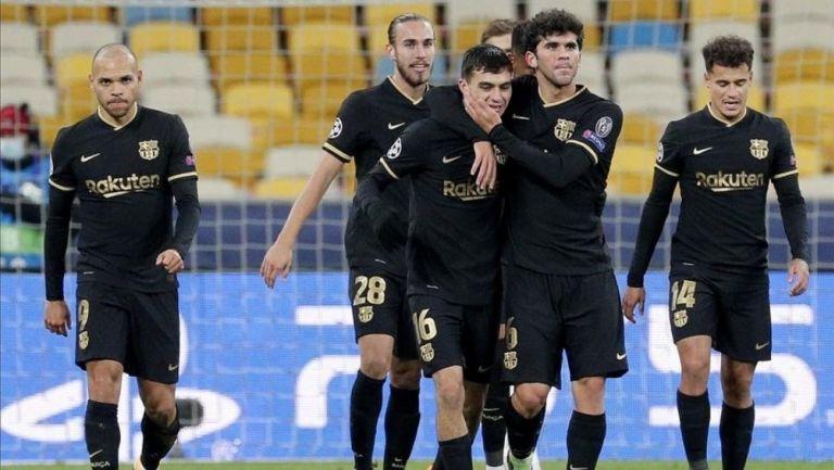 Barcelona goleo en su visita al Dynamo Kiev