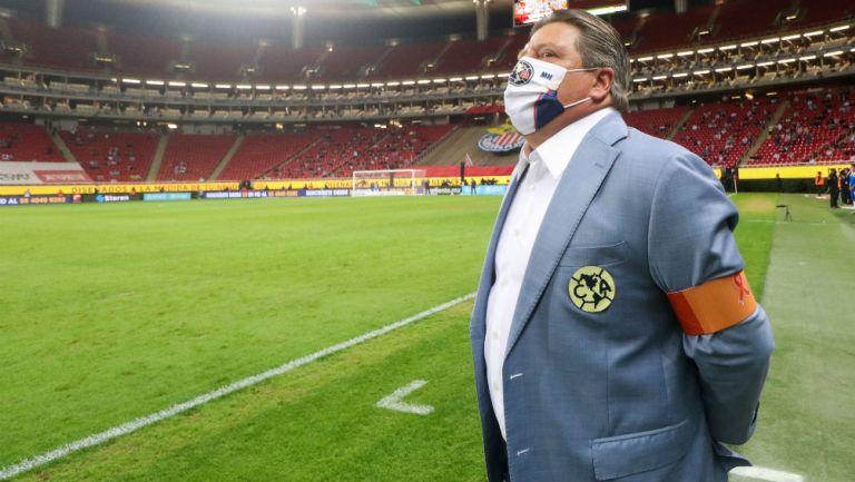 Miguel Herrera: 'Es solo un gol, iremos a casa para tratar de conseguir el resultado'