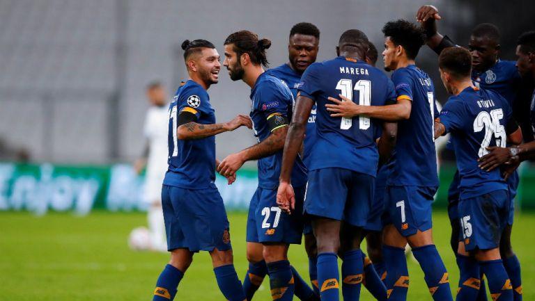 Tecatito Corona: Porto venció a Marsella y puso un pie en Octavos de la Champions League