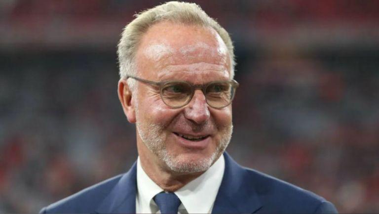 Karl-Heinz Rummenigge, dirigente del Bayern Munich
