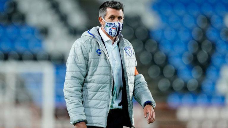 Paulo Pezzolano durante el duelo de Ida vs Pumas