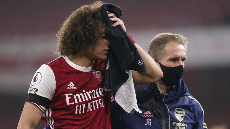 David Luiz tras choque con Raúl Jiménez