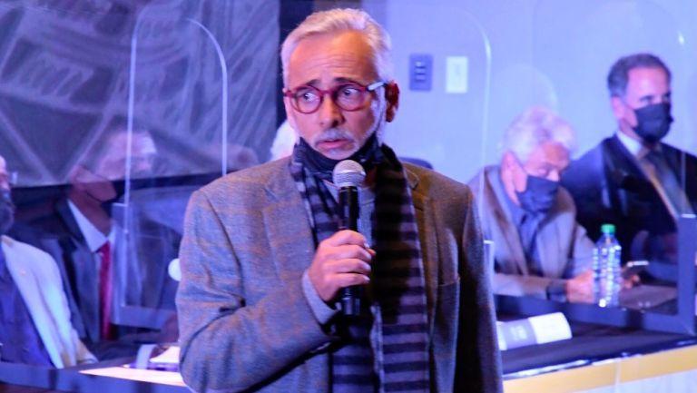 Jesús Martínez ofrece un discurso