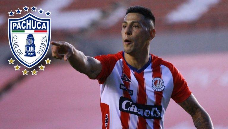 Quiroga es nuevo jugador de Pachuca