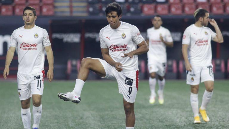 Chivas: JJ Macías podría ver acción en la Ida de las Semifinales ante León