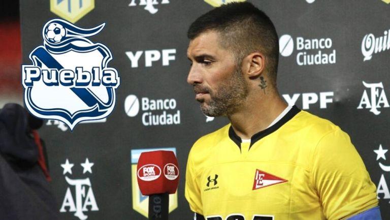 Mariano Andujar podría convertirse en portero del Puebla