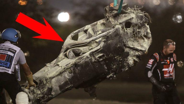 F1: HALO, la protección que salvó la vida a Romain Grosjean
